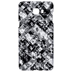 Black And White Patchwork Pattern Samsung C9 Pro Hardshell Case
