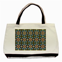 Artwork By Patrick Colorful 42 Basic Tote Bag (two Sides)