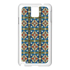 Artwork By Patrick Colorful 42 Samsung Galaxy Note 3 N9005 Case (white)