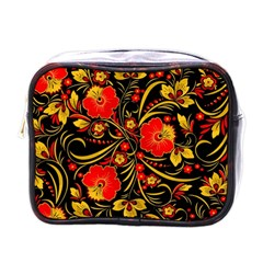 Native Russian Khokhloma Mini Toiletries Bags