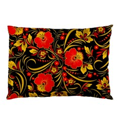 Native Russian Khokhloma Pillow Case (two Sides)