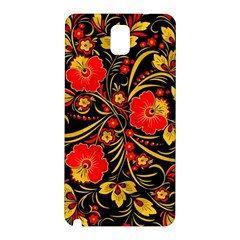 Native Russian Khokhloma Samsung Galaxy Note 3 N9005 Hardshell Back Case