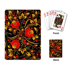 Native Russian Khokhloma Playing Card