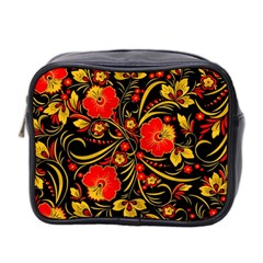 Native Russian Khokhloma Mini Toiletries Bag 2 Side
