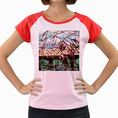 Blooming Tree 2 Women s Cap Sleeve T Shirt