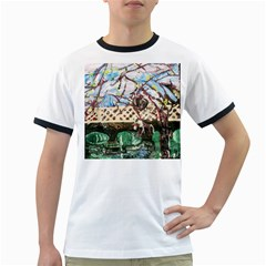 Blooming Tree 2 Ringer T Shirts