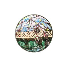 Blooming Tree 2 Hat Clip Ball Marker by bestdesignintheworld