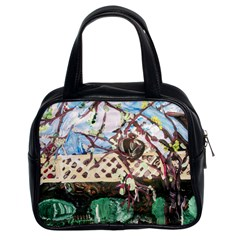 Blooming Tree 2 Classic Handbags (2 Sides)