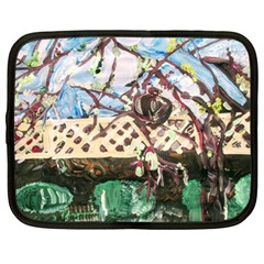 Blooming Tree 2 Netbook Case (xl)  by bestdesignintheworld