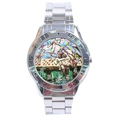 Blooming Tree 2 Stainless Steel Analogue Watch by bestdesignintheworld