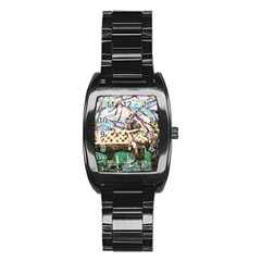 Blooming Tree 2 Stainless Steel Barrel Watch by bestdesignintheworld