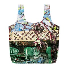 Blooming Tree 2 Full Print Recycle Bags (l)  by bestdesignintheworld