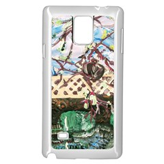 Blooming Tree 2 Samsung Galaxy Note 4 Case (white)