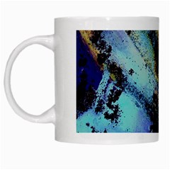 Blue Options 3 White Mugs by bestdesignintheworld