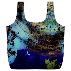 Blue Options 3 Full Print Recycle Bags (l)  by bestdesignintheworld