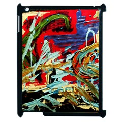 Blue Flamingoes 6 Apple Ipad 2 Case (black)