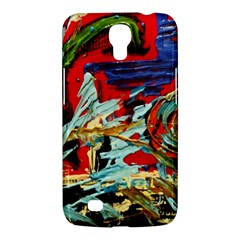 Blue Flamingoes 6 Samsung Galaxy Mega 6 3  I9200 Hardshell Case by bestdesignintheworld