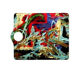 Blue Flamingoes 6 Kindle Fire Hdx 8 9  Flip 360 Case