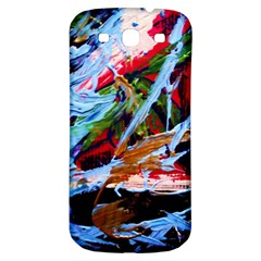 Blue Flamingoes 4 Samsung Galaxy S3 S Iii Classic Hardshell Back Case