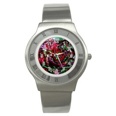 Bloody Coffee 7 Stainless Steel Watch