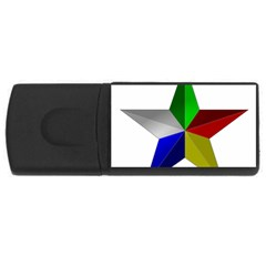 Druze Star Rectangular Usb Flash Drive by abbeyz71