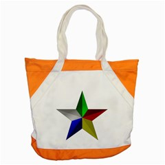 Druze Star Accent Tote Bag by abbeyz71