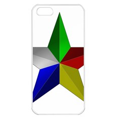 Druze Star Apple Iphone 5 Seamless Case (white)