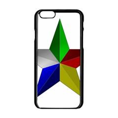 Druze Star Apple Iphone 6/6s Black Enamel Case by abbeyz71