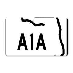 Florida State Road A1a Magnet (rectangular) by abbeyz71