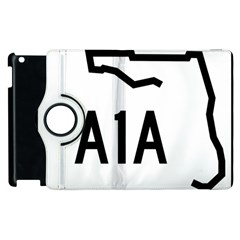 Florida State Road A1a Apple Ipad 3/4 Flip 360 Case by abbeyz71