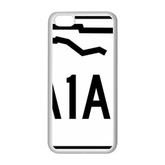 Florida State Road A1a Apple Iphone 5c Seamless Case (white) by abbeyz71