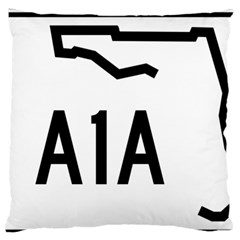 Florida State Road A1a Standard Flano Cushion Case (two Sides)