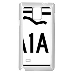 Florida State Road A1a Samsung Galaxy Note 4 Case (white) by abbeyz71