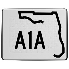 Florida State Road A1a Jigsaw Puzzle Photo Stand (rectangular) by abbeyz71