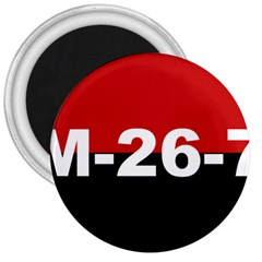 The 26th Of July Movement Flag 3  Magnets by abbeyz71