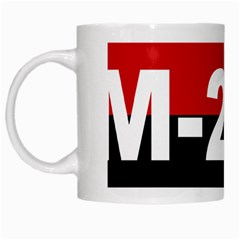 The 26th Of July Movement Flag White Mugs