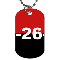 The 26th Of July Movement Flag Dog Tag (two Sides)