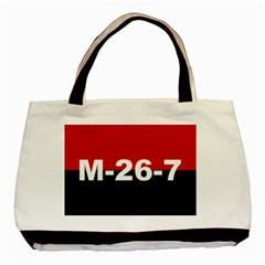 The 26th Of July Movement Flag Basic Tote Bag (two Sides) by abbeyz71