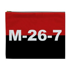 The 26th Of July Movement Flag Cosmetic Bag (xl)