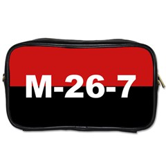 The 26th Of July Movement Flag Toiletries Bags 2 Side