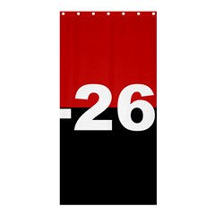 The 26th Of July Movement Flag Shower Curtain 36  X 72  (stall)  by abbeyz71