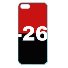 The 26th Of July Movement Flag Apple Seamless Iphone 5 Case (color)