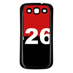 The 26th Of July Movement Flag Samsung Galaxy S3 Back Case (black)