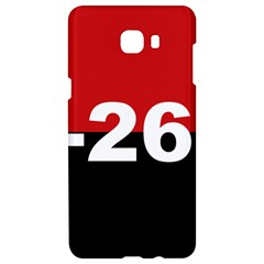 The 26th Of July Movement Flag Samsung C9 Pro Hardshell Case