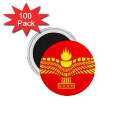 Aramean Syriac Flag 1 75  Magnets (100 Pack)  by abbeyz71