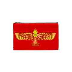 Aramean Syriac Flag Cosmetic Bag (small)