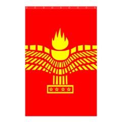 Aramean Syriac Flag Shower Curtain 48  X 72  (small)