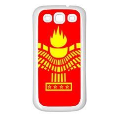 Aramean Syriac Flag Samsung Galaxy S3 Back Case (white) by abbeyz71