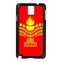 Aramean Syriac Flag Samsung Galaxy Note 3 N9005 Case (black)