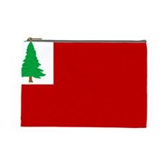 Revolutionary War Flag Of New England Cosmetic Bag (large)